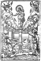 grabado Pilar ZGZ 1661 Santiago San juan